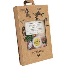 Forestia Heater Outdoor Pasto pronto con carne 350g, Cod and Rice Casserole